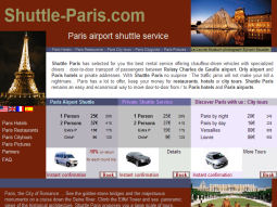 Shuttle Paris : Transfert aéroport