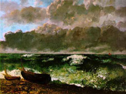 La Vague :: Gustave Courbet 1870